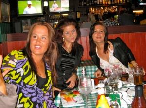 Xenia, Yvette och Jossan