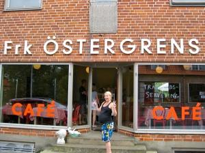 Ett av våra favoritcafén Fröken Östergrens