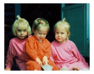 Systrarna Sandström, för ett par år sedan