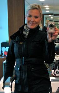 Jag älskar min nya jacka!