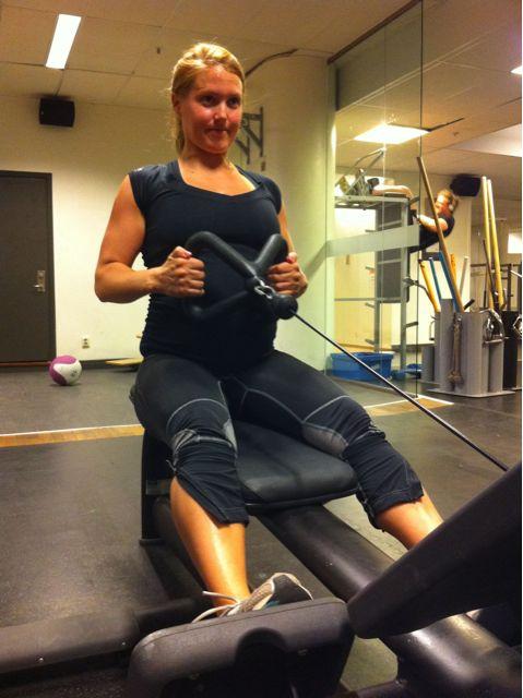gravid träning övningar lofsan